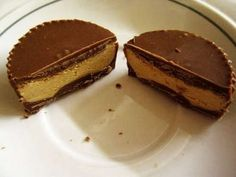 protein chocolate peanut butter cups! definitely making these. love how he also puts the calorie count and whatnot in there