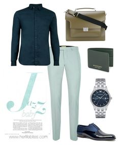 """""""Greenery shades"""" by caritoviena on Polyvore featuring Topman, AllSaints, Jared Lang, Emporio Armani, Burberry, Marni, men's fashion and menswear"""
