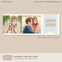 Facebook timeline cover template western photos by OtoStudio, $7.00
