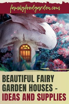 You want to do something that is fun for both kids and adults check out Family Food & Garden's guide to build a beautiful fairy garden house. Included are many ideas to follow and supplies you can purchase to make it all happen. It will be just as fun to create and decorate this magical space as it will be when it is ready. Find out where to buy furniture, plants and other items that will enhance your fairy garden house. Enjoy this project. Read more... #fairygardenhouse #gardenhouse #fairy