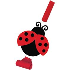 Make some noise with these fun Ladybug Fancy Blowouts. The colorful blowouts feature the gardener's little helper in her best red and black colors. Place along your party table or inside goodie bags.