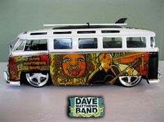 Dave Matthews Band VW Bus by chrisdalessandro on Etsy