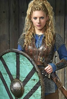 Lagertha~ strong viking shield maiden                                                                                                                                                                                 More