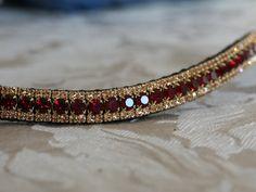 Equiture - Garnet and light colorado browband, $58.08 (http://www.equiture.biz/garnet-and-light-colorado-browband/)