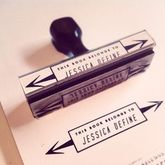 cool rubber stamp