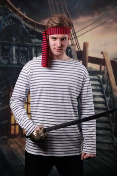 Fight the lost boys in this fun Pirate Smee Costume. If you are looking for a great Pirate outfit with minimal fuss then this Smee Pirate Costume is the one for you. Smee Costume, Pirate Fancy Dress, Lost Boys, Captain Hook, Peter Pan, Are You The One, Pirates, Kicks, Costumes