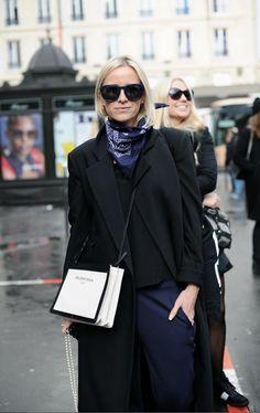 Street Snap From Paris Fashion Week