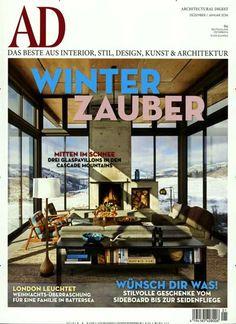 WINTER ZAUBER. Gefunden in: Architectural Digest, Nr. 1/2016