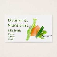 200 Dietitian Business Cards Ideas Business Cards Nutritionist Business Cards Printing Double Sided