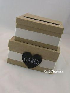 Wedding Card Box Rustic Holder Custom By RusticNuptials 2500