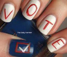 Voting Week Nails