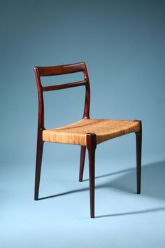 Set of four chairs, anonymous. Denmark.