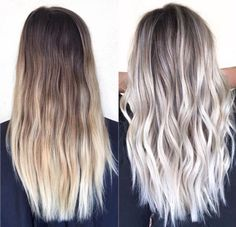 Blonde to Icy Blonde