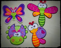 Apliques Foam Crafts, Crafts To Make, Crafts For Kids, Arts And Crafts, Paper Crafts, Diy Crafts, Art Projects, Projects To Try, Decorate Notebook