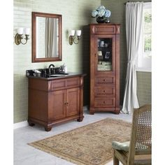 Shop for Ronbow Torino 36-inch Bathroom Vanity Set in Colonial Cherry. Get free delivery at Overstock.com - Your Online Furniture Outlet Store! Get 5% in rewards with Club O!
