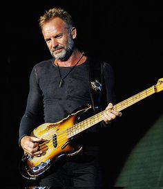 Sting - Favorites include: Fragile, Mad About You, and it goes on and on......