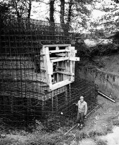 Normany 1944 - German bunker construction interrupted by the allied invasion.