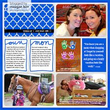 creating project life layouts - Google Search