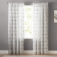 Keep your home looking modern with this SONOMA Goods for Life Batik Embroidery Sheer curtain. Boys Bedroom Curtains, Curtains Kohls, Curtains For Sale, Master Bedroom, Bedrooms, Navy And White Curtains, Navy Curtains, Window Curtains, Home Studio