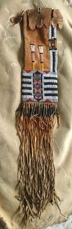 Cheyenne pipebag, view 1