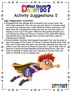 12 best lesson plans for what should danny do images on pinterest teachers what should danny do fandeluxe Gallery