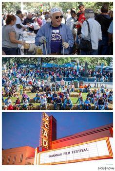 7 Festivals Happening in Savannah This October