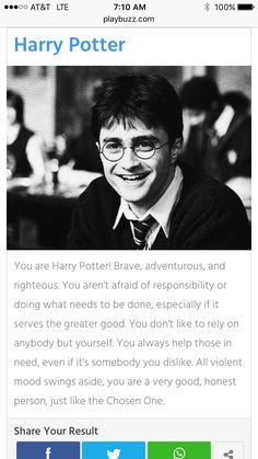 Which Hogwarts student r u? I got a Harry take the quiz to find out who u r!!