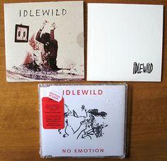 3x Idlewild promo samplers and import ECD   circa '03-07