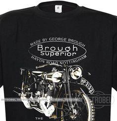 T-Shirt Brough Superior ss80Classic Retro Mens