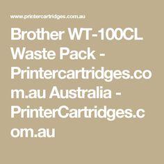 Brother WT-100CL Waste Pack - Printercartridges.com.au Australia  - PrinterCartridges.com.au Magenta, Canon Print, Printer Toner, Printer Ink Cartridges, Laser Toner Cartridge, Brother Printers, Ink Toner, Samsung, Black Ink Cartridge