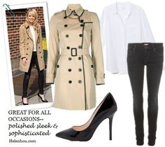 classic trench coat,how to wear trench coat, striped tee shirt, distressed jeans, leopard loafer, celine luggage tote, striped t shirt, floral high-low dress, leather booties, black pumps, skinny jeans, white button down shirt, white blouse, Burberry LondonLeather-Trim Gabardine Trenchcoat,  Merona® Water Repellent Classic Trench Coat - Assorted Colors ,  Boutique 9 Justine Patent Leather Pumps ,  Equipment Brett Blouse in Bright White ,  MOTHER The Looker Skinny Jeans