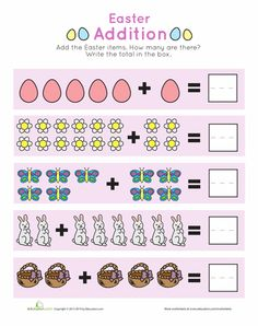 subtraction for visual learners easter 1 school subtraction kindergarten math math for kids. Black Bedroom Furniture Sets. Home Design Ideas
