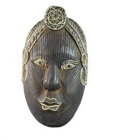 Character Mask – Java, Vintage Mask - Indonesian Mask - Antique Mask - Celebration Mask - Hand Carved Mask - Tribal Mask - Wood Mask by EnchantedFortress on Etsy https://www.etsy.com/listing/293611455/character-mask-java-vintage-mask