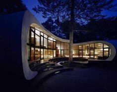 The Shell Villa Contemporary designed by Kotaro Ide