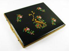 Vintage Colibri Cigarette Case with Pheasant and by MyChouChou, $24.00