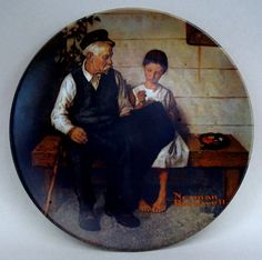 Norman Rockwell Collector Plate The Lighthouse by theowlsnestofnc.