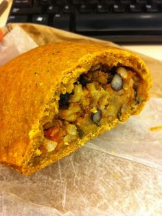 Black bean and veg turnover. A little spice, a lot of flavor. $6 and worth every penny. | Yelp