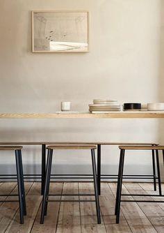 found by hedviggen ⚓️ on pinterest | kitchen | interior design | interior styling | walls | floor | modern | minimal | clean