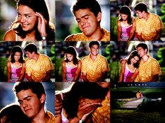 fuckyeahtvpicspam:    JOEY; Of all the people to see me like this, it had to be you.PACEY; Look, you know, it's a new year. Who knows? You and I might even become friends.JOEY; Pacey, I'm upset enough as it is. [he laughs & pulls her close]PACEY; C'mere, Potter.  Dawson's Creek, 3x01Like A Virgin  (via chasingstorms: heartwarming)      Mmmmm Joey/Pacey