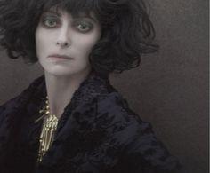 """""""The Lost Album of Marchesa Casati"""". Tilda Swinton photographed as Marchesa Casati by Paolo Roversi - Acne Paper Sweden: Fall/Winter 2010"""