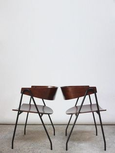 © Pierre Guariche. 'Compass' Chairs. sold by Jarontiques