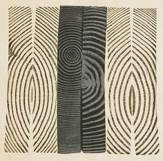 Woodcut Relief Prints by Bryan Nash Gill Textile Patterns, Print Patterns, Textiles, Visual Texture, Logo Design Inspiration, Surface Pattern, Art Lessons, Painting & Drawing, Printmaking