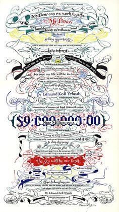 Marian Bantjes typgography