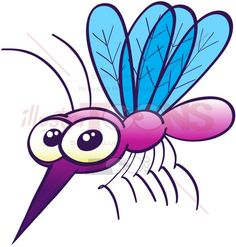 Purple mosquito looking disturbingly harmless - illustratoons Coloring Pages For Toddlers Printables, Mosquito Drawing, Cartoon Mosquito, Mosquitos Da Dengue, Painted Rocks, Hand Painted, Cartoon Eyes, Painted Shells, Simple Cartoon