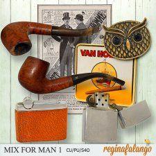 MIX FOR MAN 1 #CUdigitals cudigitals.com cu commercial digital scrap #digiscrap scrapbook graphics