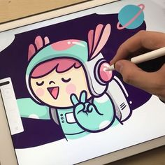 Selfie! ✨ It's Friday and you look good! #kawaii #kawaiiart #doodle #illustration #ilustracion #selfie #art #cute #かわいい #イラスト