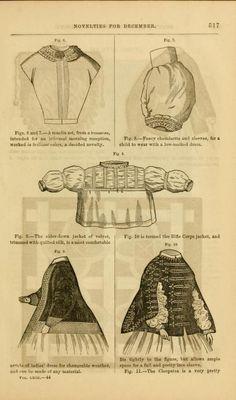 Godey's lady's book 1861 Jan -June; Jul - Dec