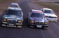 dtm Mercedes-Benz DTM car fleet, 1992.