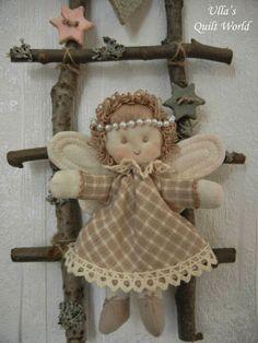 Ulla's Quilt World: Angel by Ulla's Quilt World