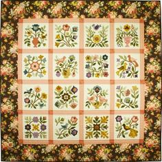 Love Is In The Air Applique Quilt Pattern by from My Heart To Your Hands